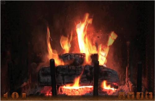 allez un petit feu de chemin e en flash pour se mettre. Black Bedroom Furniture Sets. Home Design Ideas