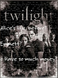 Twilight saga is a jigsaw puzzle